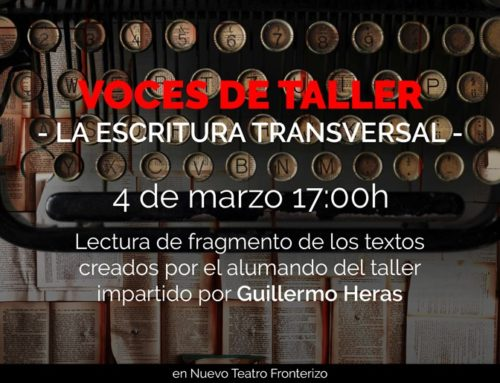 """Lectura dramatizada de mi pieza """"Venus y las ratas"""" en Nuevo Teatro Fronterizo. Madrid. 4/III/19"""