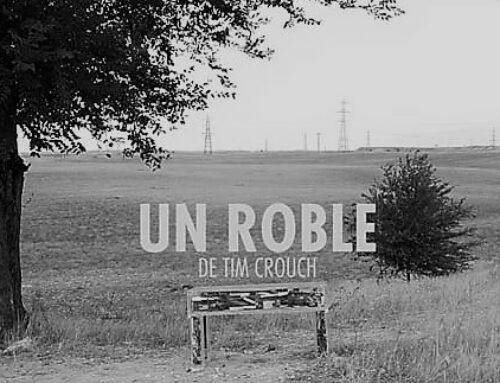 """Reseña de """"Un roble"""" de Tim Crouch. Teatro de la Abadía. 11/ IX/19. Madrid"""