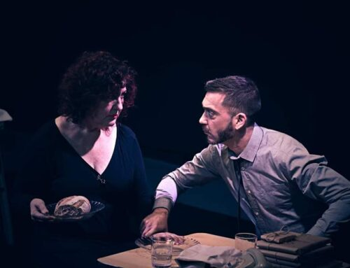 """Instantes de mi obra """"El señor y la señora Pit"""" en Casa Chejov. Madrid 24-25/1/2020 ."""